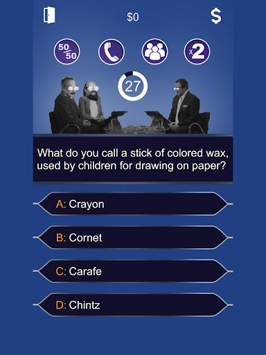 (APK) لوڈ، اتارنا Android/PC/Windows کے لئے مفت ڈاؤن لوڈ کھیل Millionaire 2017 - Lucky Quiz screenshot