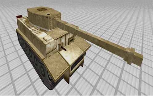War-Tank AddOn for MCPE - náhled