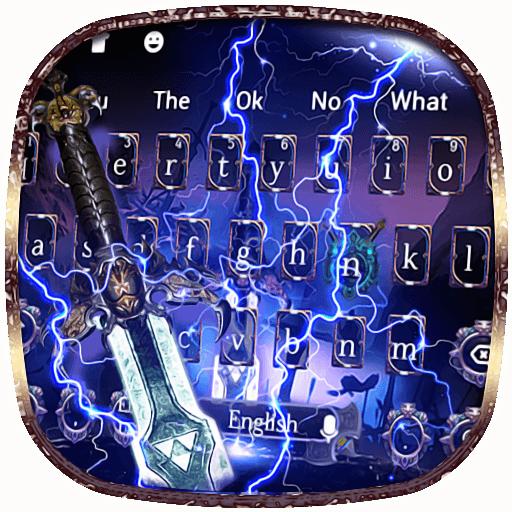 3D Lightning Sword Keyboard