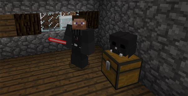 Mod Darth-Vader 2018 for MCPE - náhled