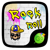 Rock Roll GO Keyboard Theme