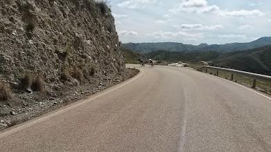 Photo: Chercos-Lijar-Albanchez - 'not a climb' the other way!