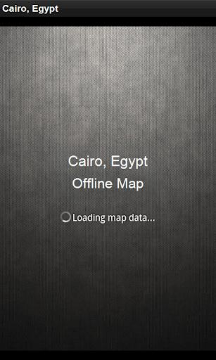 離線地圖 開羅,埃及