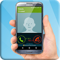 Incoming fake phone call icon