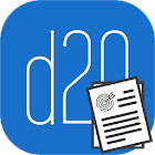 D20 - Dnd 5th Character Sheet icon