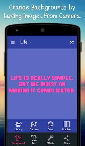 Creative Quotes Maker Book - Quotes Creator App screenshots 3