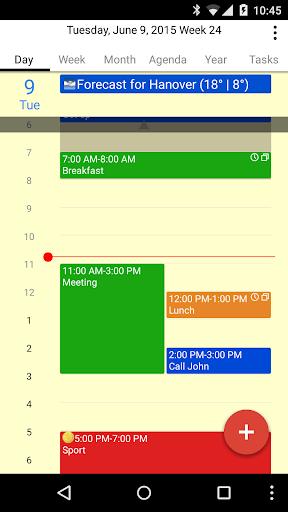 CalenGoo Calendar - Free Trial ss1