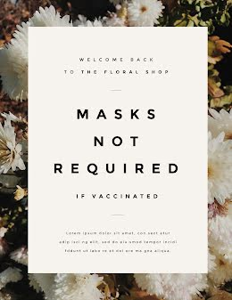 Masks Not Required - Poster item