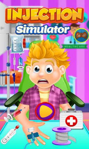 Hospital Doctor Blood Test: Injection Simulator 1.0.1 screenshots 1