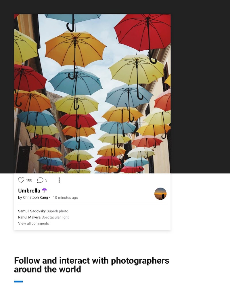 500px – Photography Screenshot 6