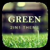 (FREE) Green 2 In 1 Theme