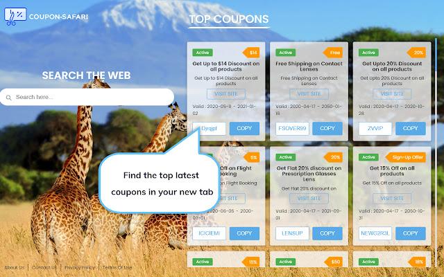 Coupon Safari