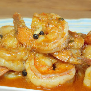 New Orleans BBQ Shrimp.