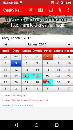 玩生產應用App|Czech Calendar 2015免費|APP試玩