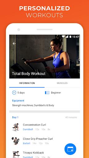VirtuaGym Fitness Home and Gym  screenshot 4