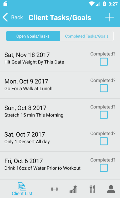 FitSW - Fitness Software for Personal Trainers- screenshot