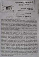 Photo: Voce della Comunità di Arino di Dolo (06.4.2015)