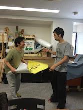 Photo: 4/27 大塚さんと耕平君。 どんなやりとりが繰り広げられる??