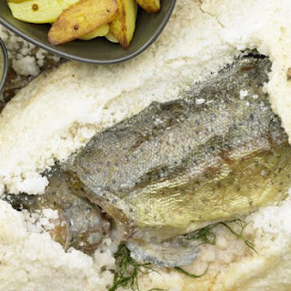 Baked Lake Trout.