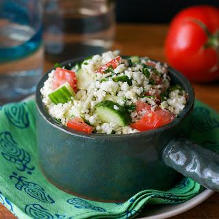 Cauliflower or Parsnip Tabbouleh Recipe