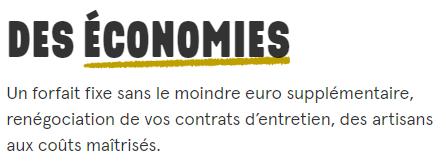 Matera : Des économies