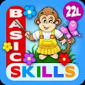 Abby Monkey Basic Skills Preschool Learning Games icon