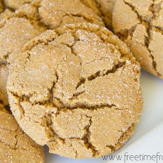 Soft Ginger Molasses Cookies {Recipe}