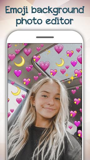 Emoji Background Photo Editor ss1