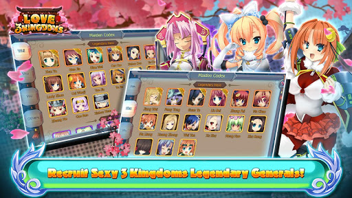 Love 3 Kingdoms: Sexy RPG 1.2.0 screenshots 1