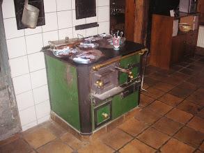 Photo: Ein ehrwürdiger alter Kochherd !