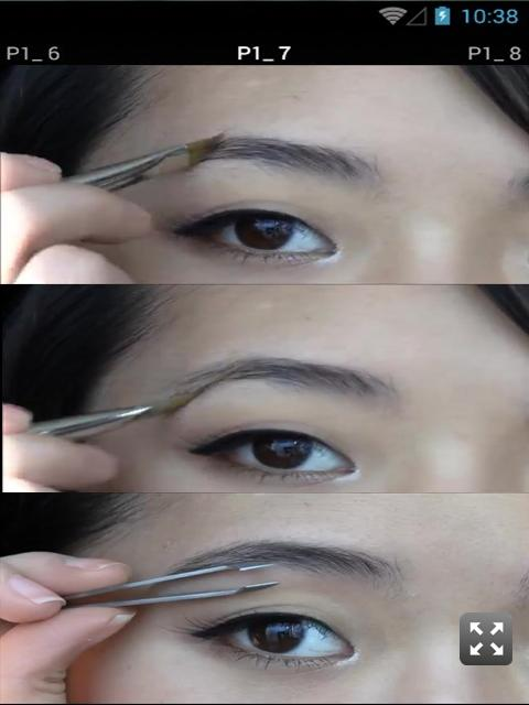tutorial makeup alis dan mata screenshot