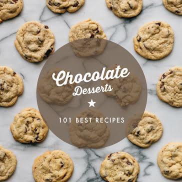 Chocolate Desserts - Instagram Post Template