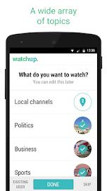 Watchup: Video News Daily Screenshot 1