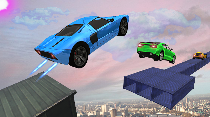Impossible Dangerous Tracks Real Crazy Cars Stunt