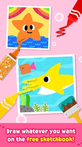 Pinkfong Baby Shark Coloring Book screenshot 6