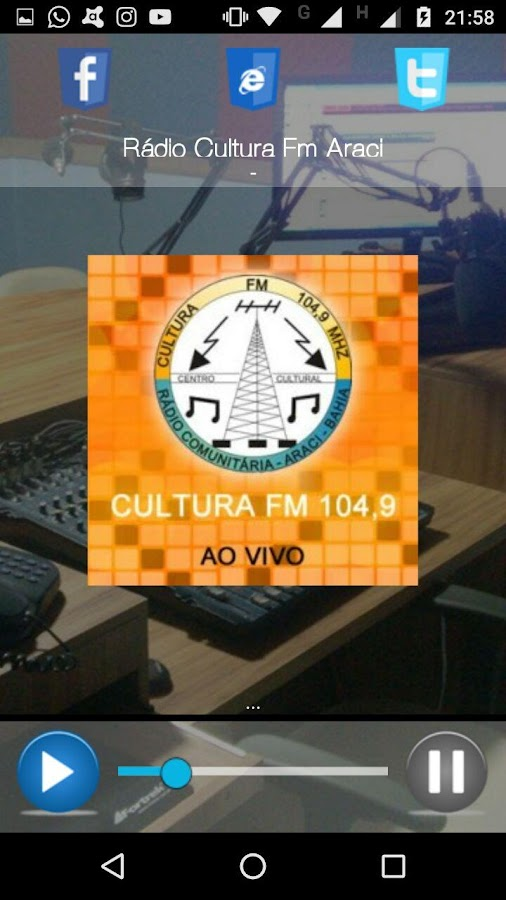 Cultura FM - Araci- screenshot