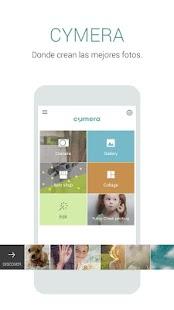 Cymera - Filtros & Editor: miniatura de captura de pantalla
