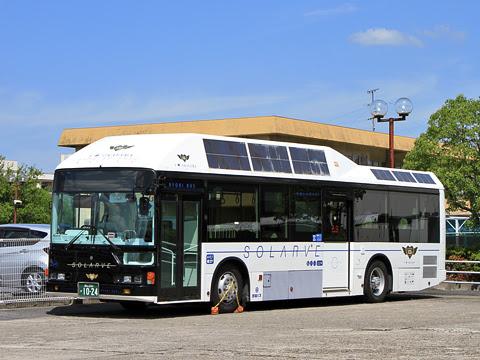 両備ホールディングス 西大寺 太陽光電池バス「ソラビ」 1024