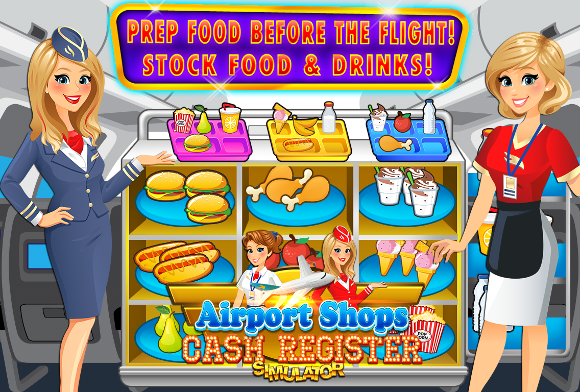 Airport Simulator Cashier FREE- screenshot