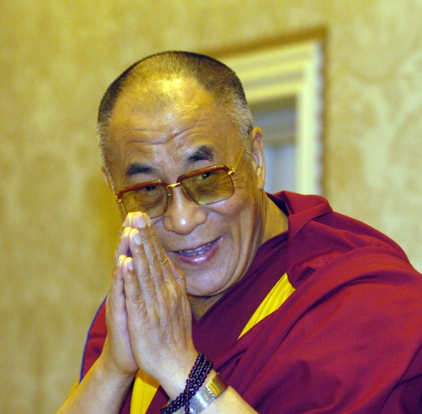 The Dalai Lama. Picture: TYRONE ARTHUR