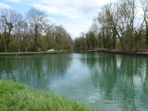 Photo: confluent du canal de Meaux à Chalifert et du canal latéral au Grand Morin