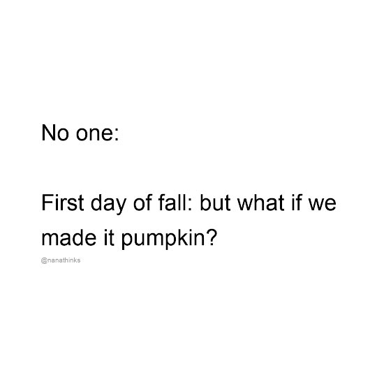 First Day of Fall - Instagram Post Template