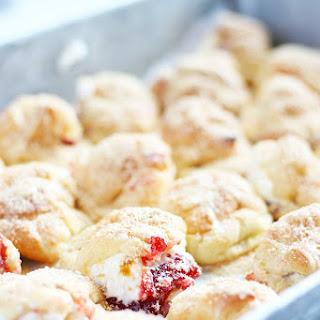 Peanut Butter and Jelly Profiteroles Recipe