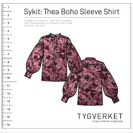 Sykit: Thea Boho Sleeve Shirt + Everlasting