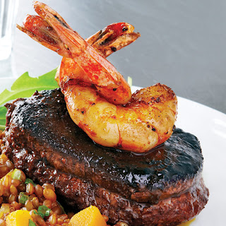 Spiced Beef Tenderloin with Shrimp Recipe
