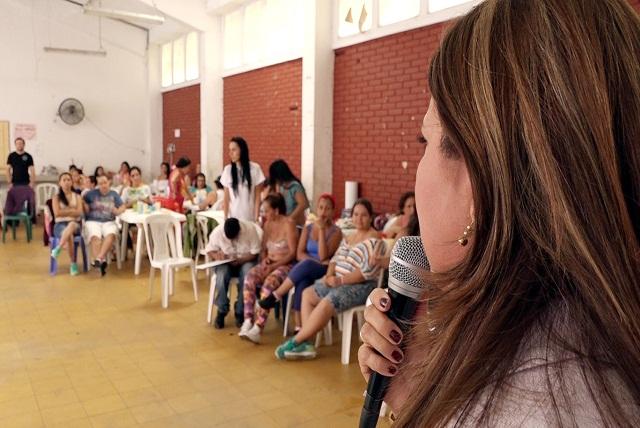 Alcaldía brindó jornada de esparcimiento a internas del centro de reclusión Villa Cristina