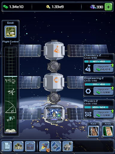 Idle Tycoon: Space Company  captures d'u00e9cran 8
