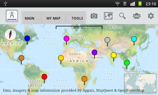 Appxis - Free Maps & Map Tools- screenshot thumbnail