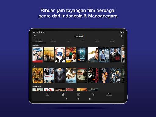 Vision+ : Nonton TV & Film Streaming modavailable screenshots 10