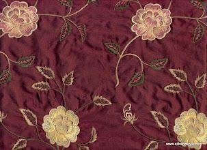 Photo: Mysore 11 - Euphoria Series Embroidery - Ruby